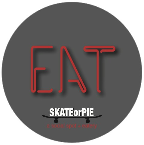 Sticker - Eat Skate or Pie